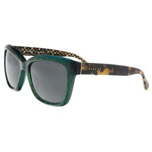 COACH Emerald 57mm Sunglasses